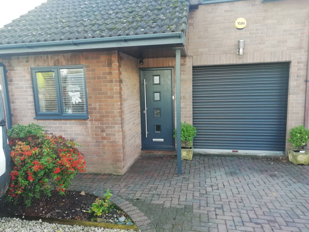 Image of High Security Garage Door In Portskewett