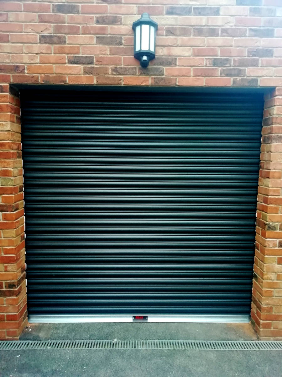 Image of High Security Roller Garage Door for a Customer in Caldicot