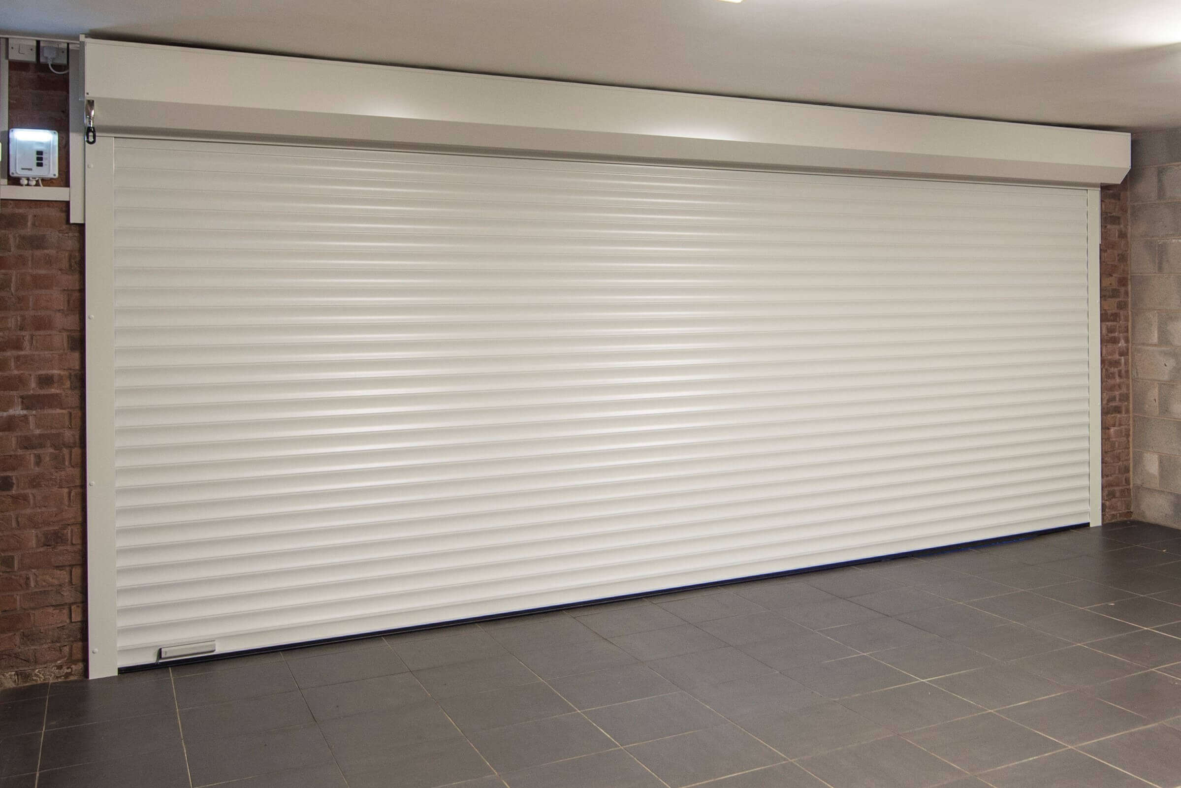 Image of Garage Door Installation Inside Closed