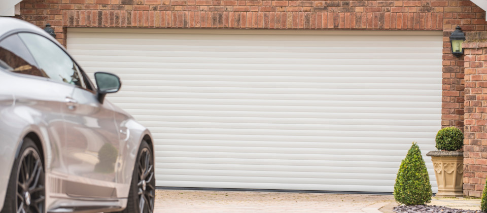 Image of Aluminium Roller Garage Doors for Security and Great Looks